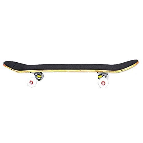 Nologo Xjdmg Mini Skateboard, Jugendstreetscooter, Geeignet for Outdoor-Aktivitäten, 90kg Bearing