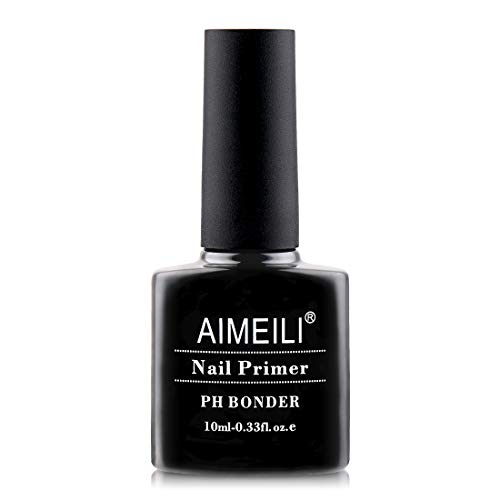 AIMEILI Nail Primer Nail Prep Dehydrator Nagel Entfetter Ausgleichendes Gel Primer Unterlack für UV...