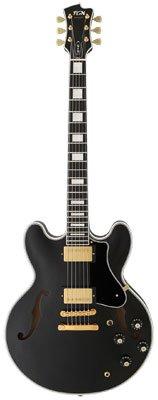 FGN Masterfield Semiakustik-Gitarre Classic Black