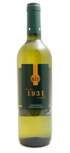 Emporda, Vino Blanco 1931, 75cl, 13º