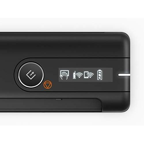 Epson WorkForce ES-60W Scanner Portatile, 8.5 ppm, WiFi e Batteria Integrata per Scansioni Fino a 300 Pagine, Software Nuance Power PDF Incluso