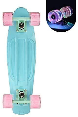 FMXYMC Tabla de Skate Pastel Mini de 22