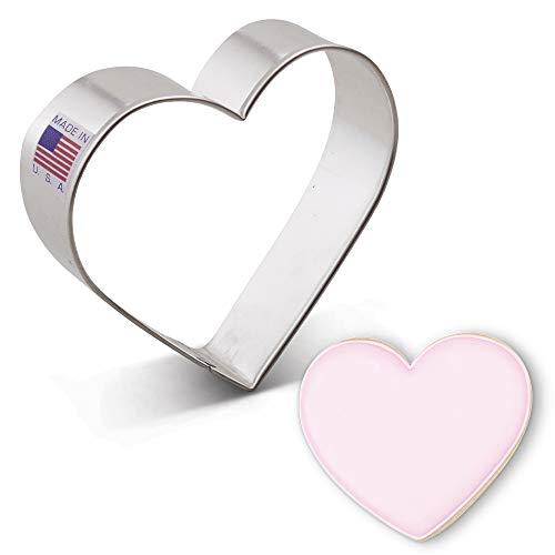 Ann Clark Ausstechform - Herz - 8.5 cm - US verzinnter Stahl