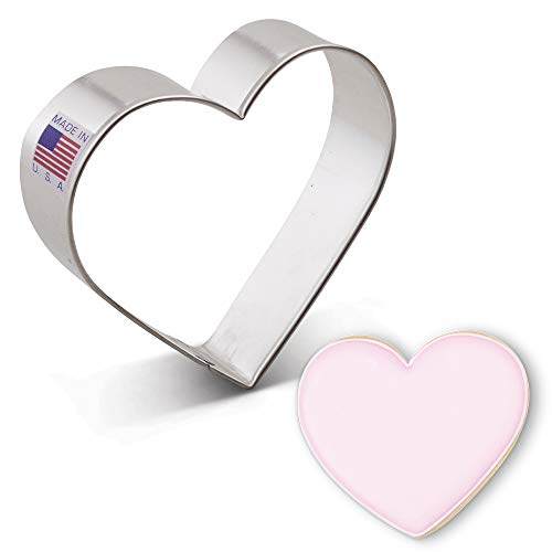 Ann Clark Cookie Cutters Heart Cookie Cutter, 3.25""