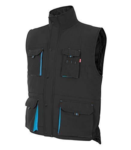 Preisvergleich Produktbild Velilla 205902 0 / 5 S - Zweifarbige Weste mit mehreren Taschen,  Schwarz,  Größe S