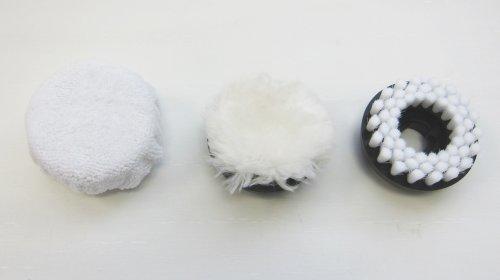 Metapo Shoe Polishing Brush Kit for Power Scrubber PS100, PS150, PS200, PS300 and Compatible Power Scrubbers