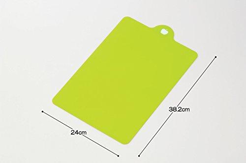 イノマタ化学使い分けシートまな板4枚セット約24×38.2cm×厚さ1mm