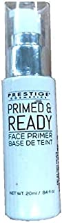 Prestige Cosmetics Primed and Ready Face Primer, 0.84 Fluid Ounce