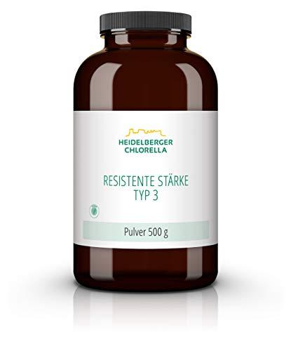 Heidelberger Chlorella – Resistente Stärke Typ 3 Pulver, vegan, retrogradierte Stärke, 500 g