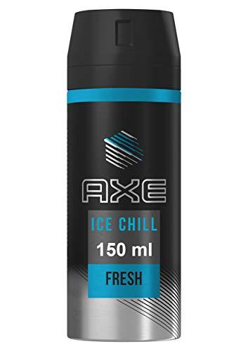 mejores Desodorantes para hombre Axe Ice Chill - Desodorante Bodyspray para Hombre,  48 horas de protección - 150ml