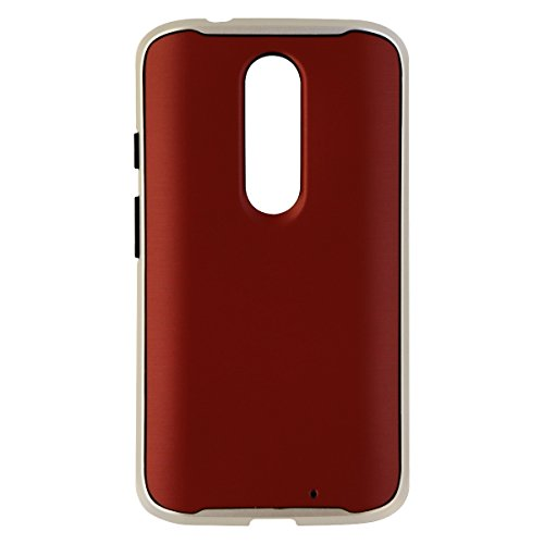 Verizon OEM Soft Cover Case with Bumper for Motorola DROID Turbo 2 - Marsala Red