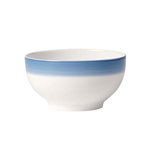 Villeroy & Boch Colourful Life Winter Sky Bol, Porcelaine Premium, Blanc/Bleu