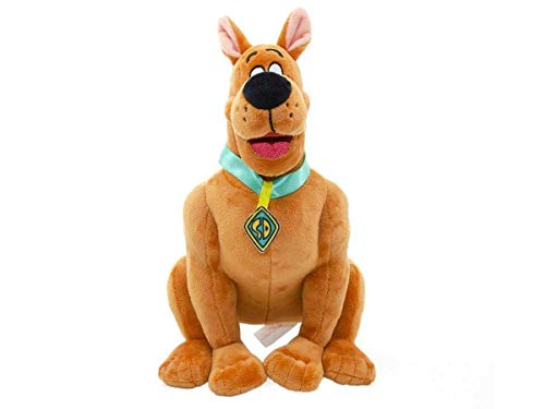 YuMe Scooby Doo Plush Sitting with Signature Collar and Nametag 11'