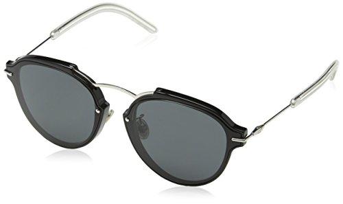 Dior Damen DIORECLAT P9 RMG 60 Sonnenbrille, Schwarz (Blck Pallad/Grey)