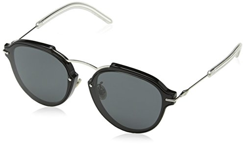 Christian Dior Eclat/S Sunglasses Black Palladium/Gray