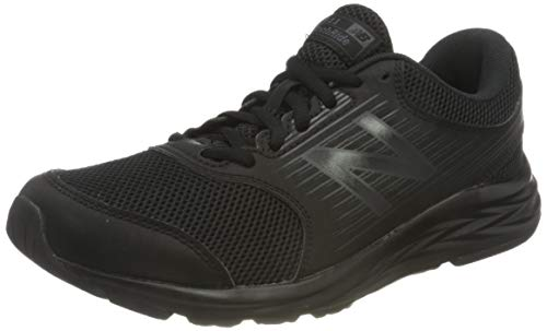 New Balance 411 Sneakers, Zapatillas de Correr Mujer, Negro (Triple Black), 36 EU