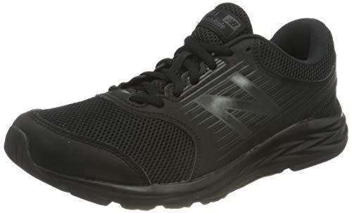 New Balance 411 Sneakers, Zapatillas de Correr Mujer, Negro (Triple Black), 36.5...