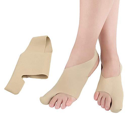 MWPO Órtesis ultradelgada del Pulgar Valgus Huesos Grandes del pie Alineador del Pulgar Toe Corrector del valgo Adulto Transpirable Confort Tamaño SL