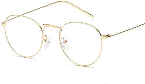 Unisex superlicht gepolariseerde zonnebril, computerbril tegen de blauwe cirkelvormige montuurglazen, Literary oude wijzen, herstelt mannen en vrouwen Lue Shading glazen, anti-glans vermoeidheid, koop
