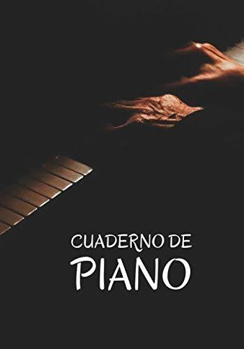 Cuaderno de Piano: Planificador Semanal de 52 Semanas  | 105 páginas ( 18 x 26cm )  | Planifica y Organiza tus Clases de Piano y Mejora como Pianista.