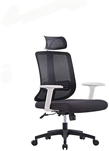 Jiaduobao - Sedia girevole da ufficio, per casa, computer, sedia da ufficio, sedia da personale, in rete, girevole per sollevare studenti, sedia da dormitorio multifunzionale, design ergonomico