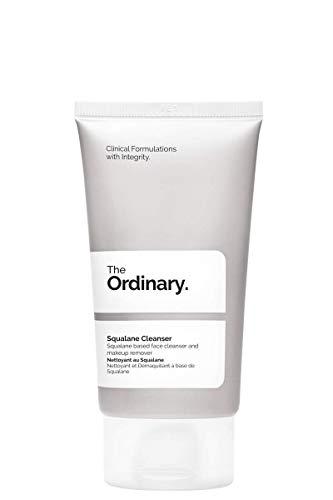 The Ordinary Squalane Cleanser 50 ml, detergente viso delicato e...