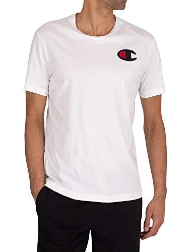 Champion Crewneck T-Shirt Rochester 1919 Weiss - S