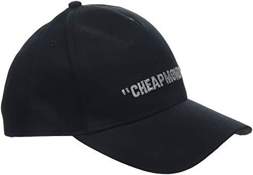 Cheap Monday Cm Baseball cap Cheap Review Berretto, Nero (Black Black), Unica (Taglia Produttore: OneSize) Uomo