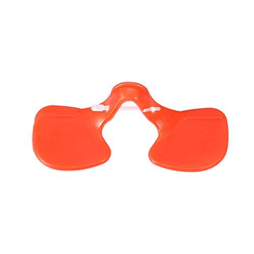 TOPINCN Yeux de Poulet Lunettes Lunettes Protecteur Anti-acariens deuxième génération Grand Masque Yeux de Poulet Poule picorer prévention pour la volaille 100pcs