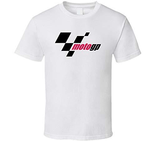 YONGMAO Moto GP Logo Camiseta Blanco