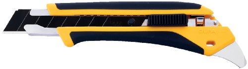 OLFA 1072198 LA-X 18mm Fiberglass Rubber Grip Heavy-Duty Utility Knife
