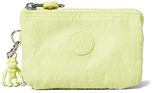 Kipling Creativity S, Tasche/Case Donna, Verde Lime, Taglia Unica