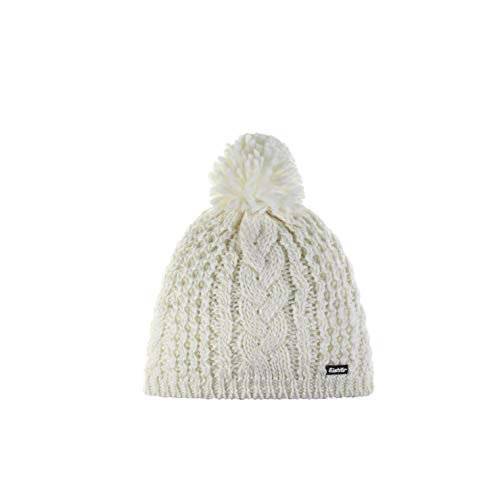 Eisbär Damen Afra Pompon MÜ Mütze, White