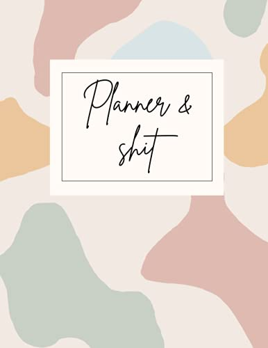 Planner & Shit: Sunday Start Funny Mid Year Diary Planner 2021 2022 with...