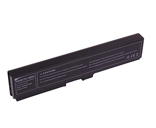 10,8 V 4400 mAh Pa3817u-1brs Batería para Toshiba Satellite A660 A665 C600 C645 C650 C655 L640 L645 L655 L730 L745 L755 M640 M645 P700 P74