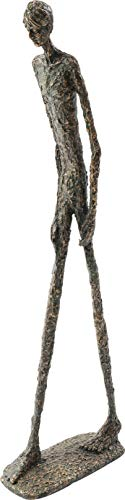 Kare Design Deko Objekt Art Man 79cm, künstlerische Skulptur aus Polyresin, handgefertigte Figur als Accessoire für den Wohnbereich, (H/B/T) 79x25x10,5