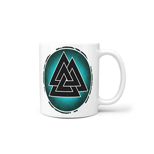 O5KFD&8 11 Oz Getränke Cappuccino Tasse mit Griff Porzellan Neuheit Becher - Jungen Männer, Geeignet für Haus verwenden white18 330ml
