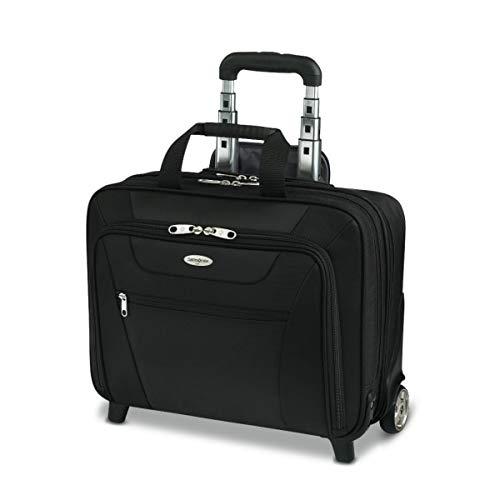 Samsonite Wheeled Business Case, 13'H x 17'W x 6 1/2'D, Black