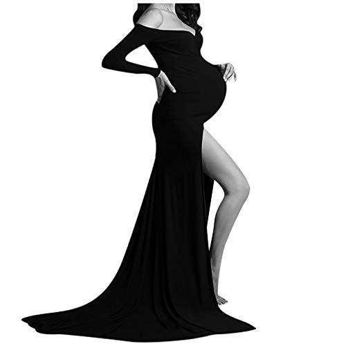 Mujer Embarazada Chifón Largos...