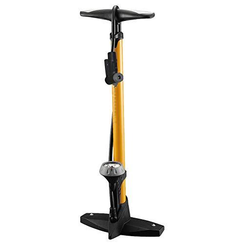Standpumpe, kompatibel mit 160PSI Fahrrad Bodenpumpe mit Manometer und Düse, für Schrader Ventil Fahrradpumpe Hochdruckfahrradboden Pump