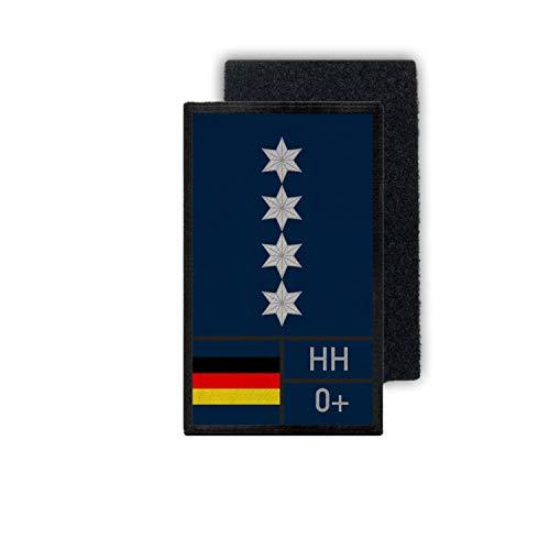 A12 Zero Positive Hamburg HH 0 Federale politie 12 x 7 cm # 33645