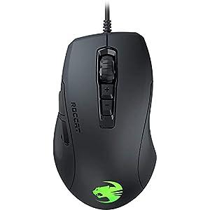 ROCCAT ROC-11-730 Kone Pure Ultra - Light ErgonoMic Gaming Mouse (16000 Dpi Optical Sensor RGB Lighting Ultra Light) Black