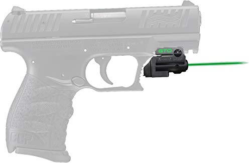 ArmaLaser Designed to fit Walther CCP GTO Green Laser Sight and FLX59 Grip Switch