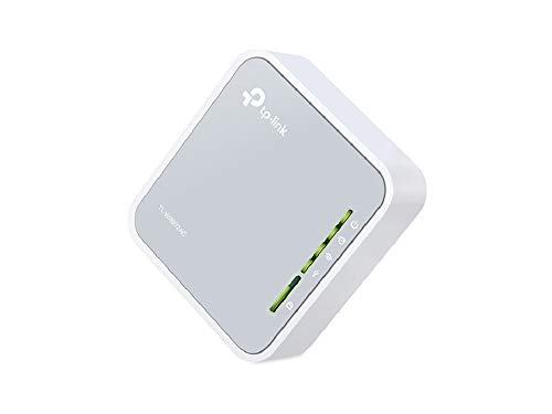 TP-Link AC750 Wireless Portable Nano Travel Router - WiFi Bridge/Range Extender/Access Point/Client Modes, Mobile in Pocket(TL-WR902AC)