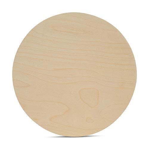 Woodpeckers - Círculos de madera de abedul báltico de 0,6 cm de grosor