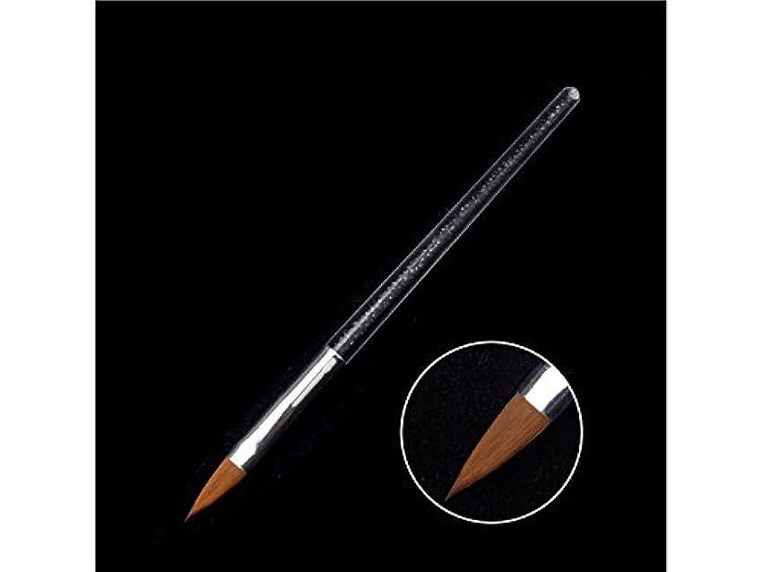 地上のつかいます評価可能Osize ネイルペンツールクリスタルペンダイヤモンドバーペイントペン(ブラック)