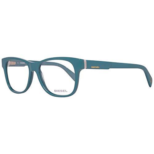 Diesel Brillengestelle DL5087 53093 Rechteckig Brillengestelle 53, Türkis