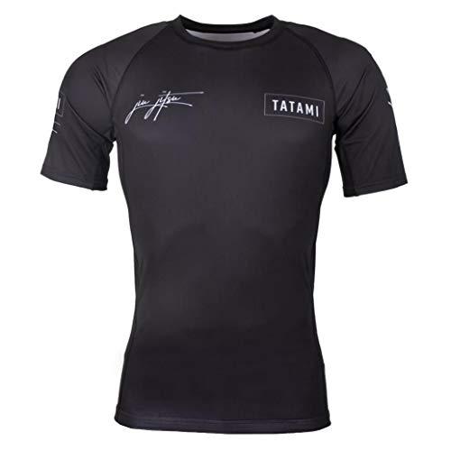 Tatami Rashguard Signature – Camiseta de compresión con 4 vías elástica para Jiu Jitsu, Fitness, Grappling y MMA – Hombre Rash Guard (S)