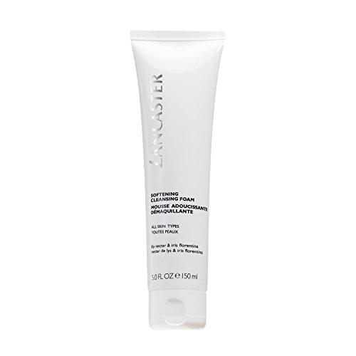 LANCASTER Softening Cleansing Foam, Gesichts-Reinigungsschaum, löst Make-up und Verschmutzungen, alle Hauttypen, 150 ml