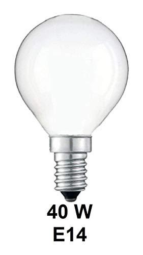Polaroid G45 Golfball, 40 W, SES/E14, kleine Edison-Schraube, Opal (weiß/weich), Doppel-Lebensdauer: 1000 Stunden, 10 Stück, Pack of 30
